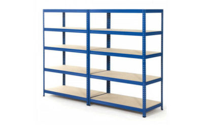 MS Slotted Angle Racks for storage