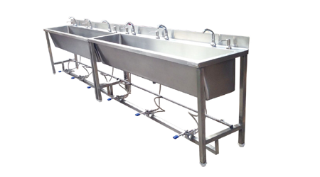 Foot Operated Sink Industrial Model