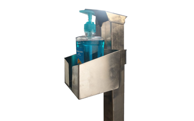 SS – Sanitizer Stand Model 1
