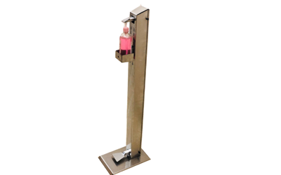 SS – Sanitizer Stand Model 2
